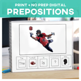 Prepositions: Adapted Book Football