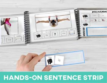 Prepositions: Adapted Book Gymnastics