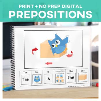 Prepositions: Owl