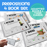 Prepositions: Adapted Book  4 Book BUNDLE