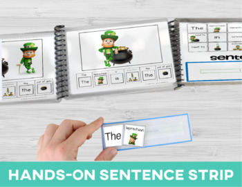 Prepositions: Adapted Book Leprechaun