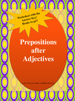 Prepositions After Adjectives