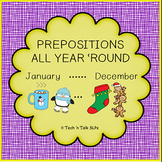 Prepositions All Year 'Round