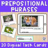 Digital Resource Prepositional Phrases Boom Cards
