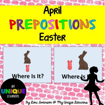 Prepositions- April- Easter