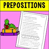 Prepositions Assessment