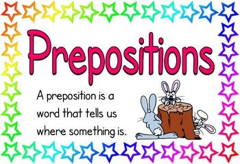 Prepositions (BUNDLE PACK)