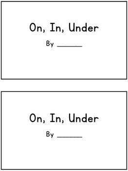 Prepositions Book: On, In, Under (Interactive ESL book - 16 prepositions)