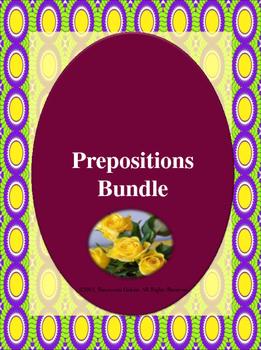 Grade 3: Prepositions Bundle