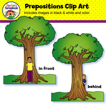 Prepositions Clip Art