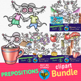 Prepositions Clip Art Bundle