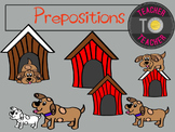 Prepositions Clipart - Common Core English Clipart {Teache