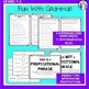 Prepositions Worksheets and Activities Unit