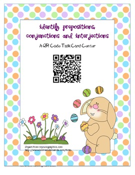 Prepositions, Conjunctions, and Interjections CCSS 5.L.1