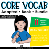 Prepositions Core Vocabulary Adapted Book Bundle [Level 1