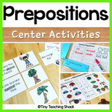 Prepositions ELA  Activities - Grammar Centers