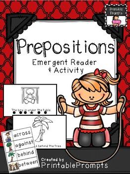 Prepositions- Emergent Reader