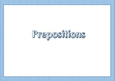 Prepositions - English