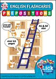 Prepositions - English Flashcards