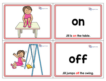 Flashcards - Prepositions