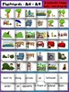 Prepositions Flashcards and Game set - 3 distinct image sets + text