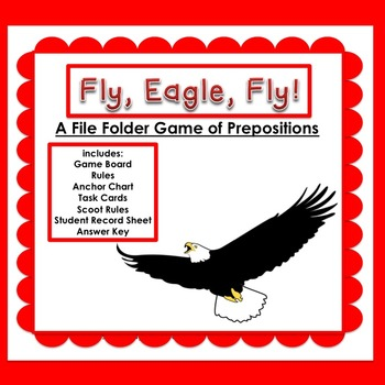 Prepositions:  Fly, Eagle, Fly!