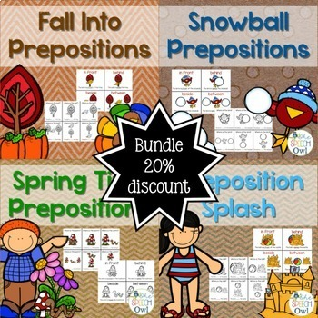 Prepositions For The Year Bundle