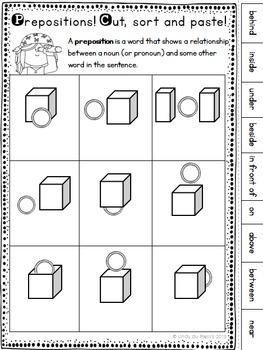 prepositions worksheet freebie by lindy du plessis tpt. Black Bedroom Furniture Sets. Home Design Ideas