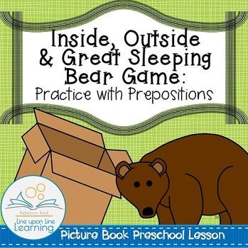 Prepositions Game (Preschool Picture Book Lessons)