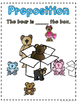 Prepositions Differentiated Guided Reading and Centers Booklet