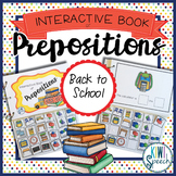 Prepositions Interactive Book {BACK TO SCHOOL}