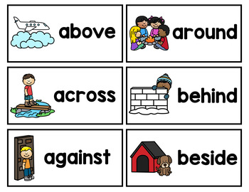 Prepositions Interactive Game