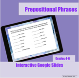 Prepositions Interactive Google Slides Lesson/ Distance Learning