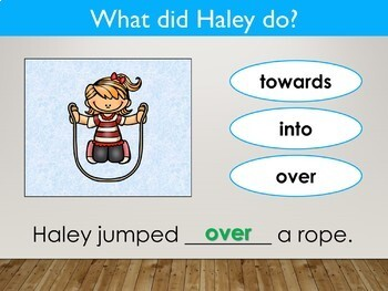 Prepositions Interactive PowerPoint Lesson