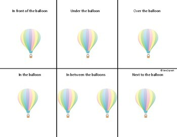 Prepositions: Interactive boards and visual scenes