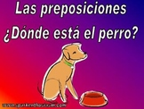 Prepositions (Las preposiciones) Power Point in Spanish (44 slides)