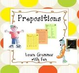 Prepositions - Learn Grammar with Fun