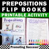 Prepositions Interactive Notebook, ESL Vocabulary Activities