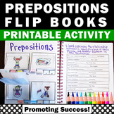 Prepositions Interactive Notebook, Prepositional Phrases Activities, Speech