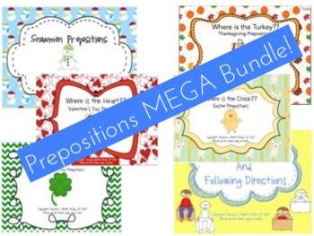 Prepositions MEGA Bundle!