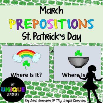 Prepositions- March- St. Patrick's Day