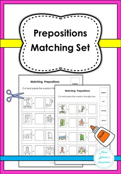 Prepositions Matching