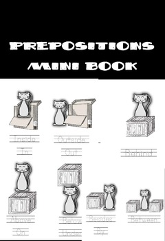 Prepositions Mini Book