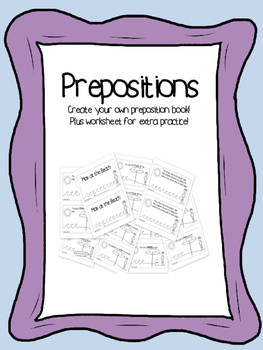 Prepositions Mini Book