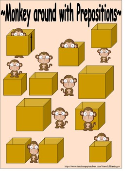 Prepositions: Monkeys