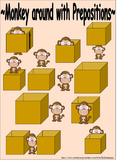 Prepositions: Monkeys
