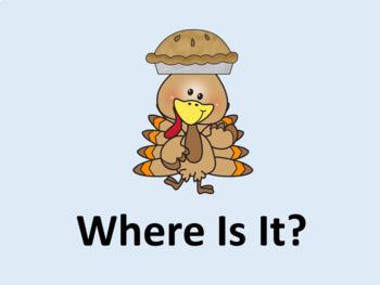 Prepositions- November- Thanksgiving