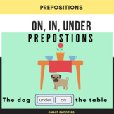 Prepositions ON, IN, UNDER