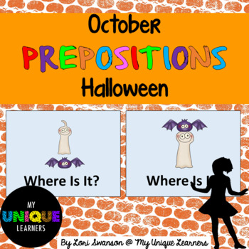 Prepositions- October- Halloween