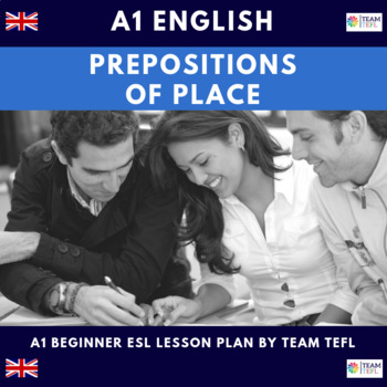 Prepositions Of Place A1 Beginner Lesson Plan For ESL